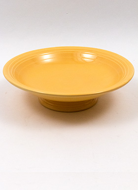 Original  Yellow Fiestaware 12 Inch Footed Comport