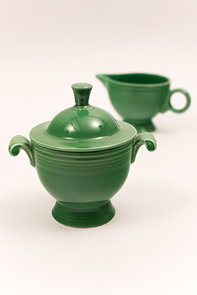 casserole medium dish Vintage fiesta green