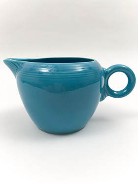 Vintage Fiestaware Turquoise 2 Pint Jug For Sale: Antique Fiesta Pottery  Americana Dinnerware Art Deco 30s 40s