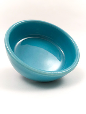 Fiesta Relish Tray Center Insert in Original Turquoise Glaze