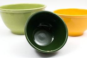 Harlequin Colors 3 Piece Mixing Bowl Set for Sale