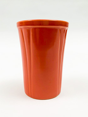 Riviera Pottery for Sale: Red Juice Tumbler from vintagefiestaware.com