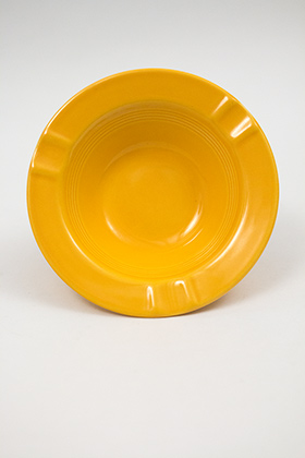 Harlequin Pottery Regular Ashtray in Yellow