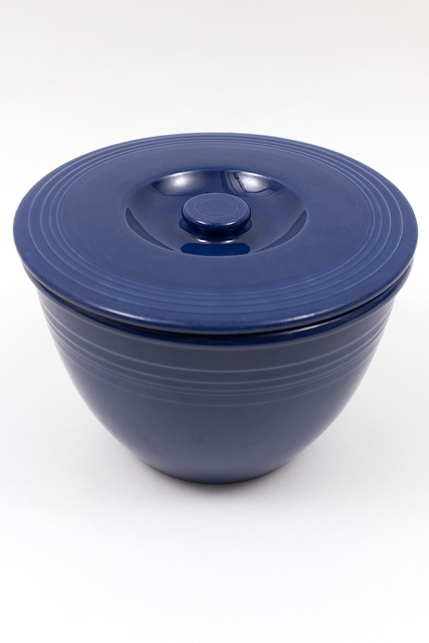 Vintage Fiesta Nesting Bowl Lid Number Four In Original