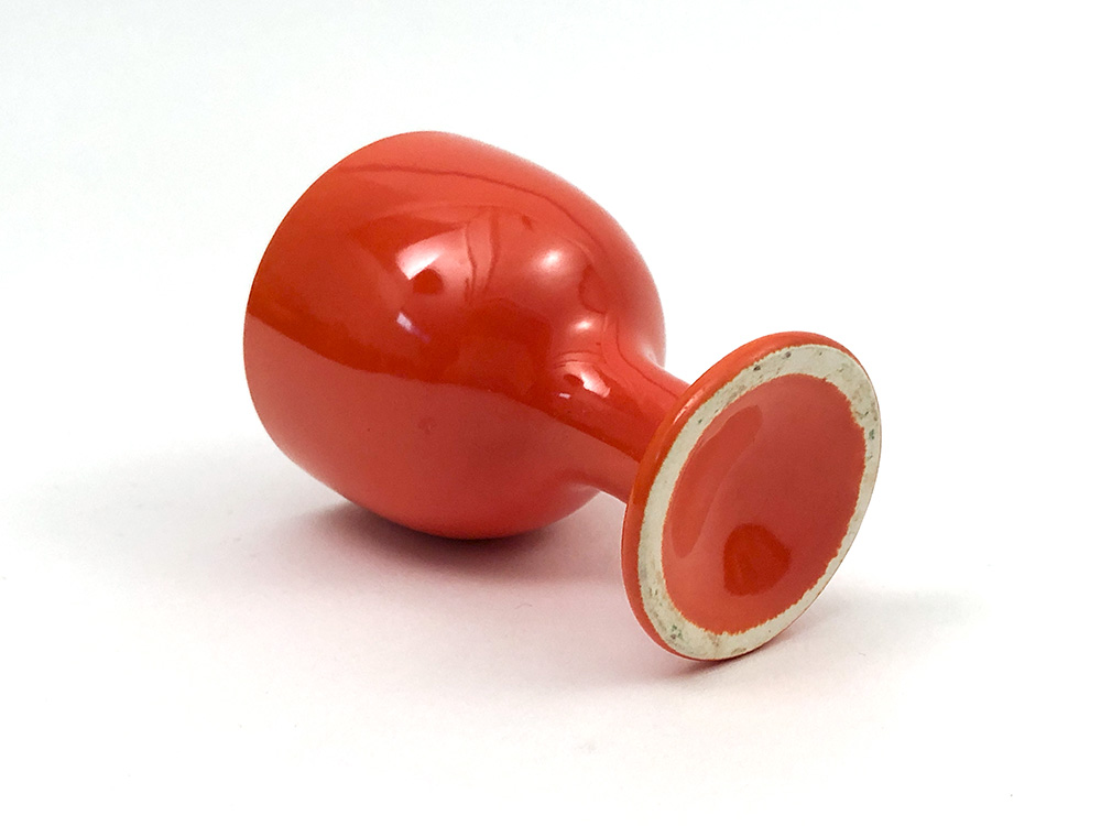 Fiesta Red harlequin single egg cup for sale