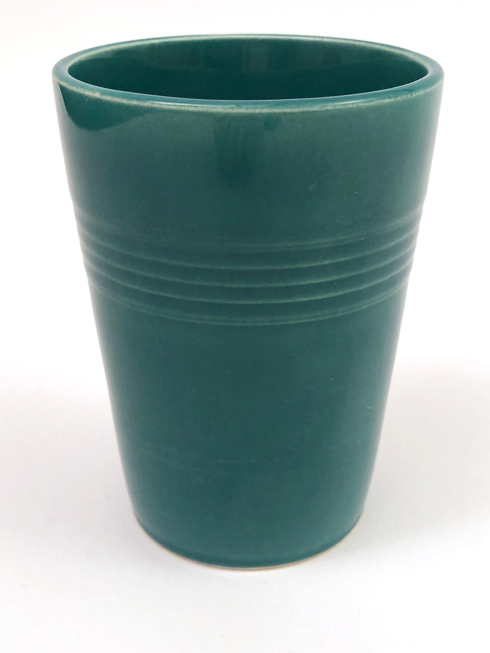 spruce green harlequin homer laughlin tumbler for sale