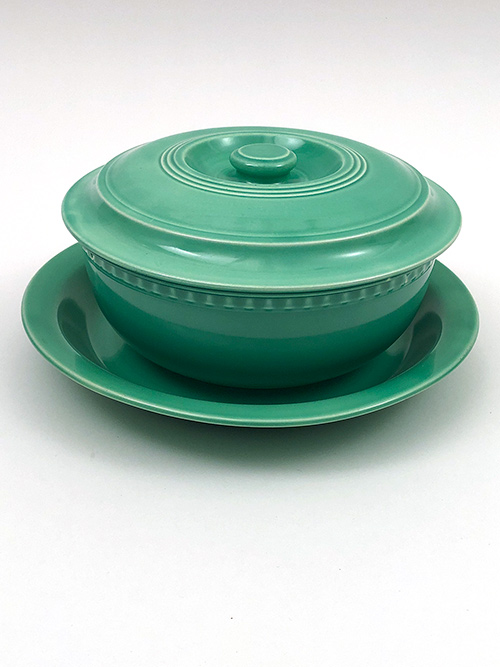 Vintage Fiesta Promotional Casserole Set in original green